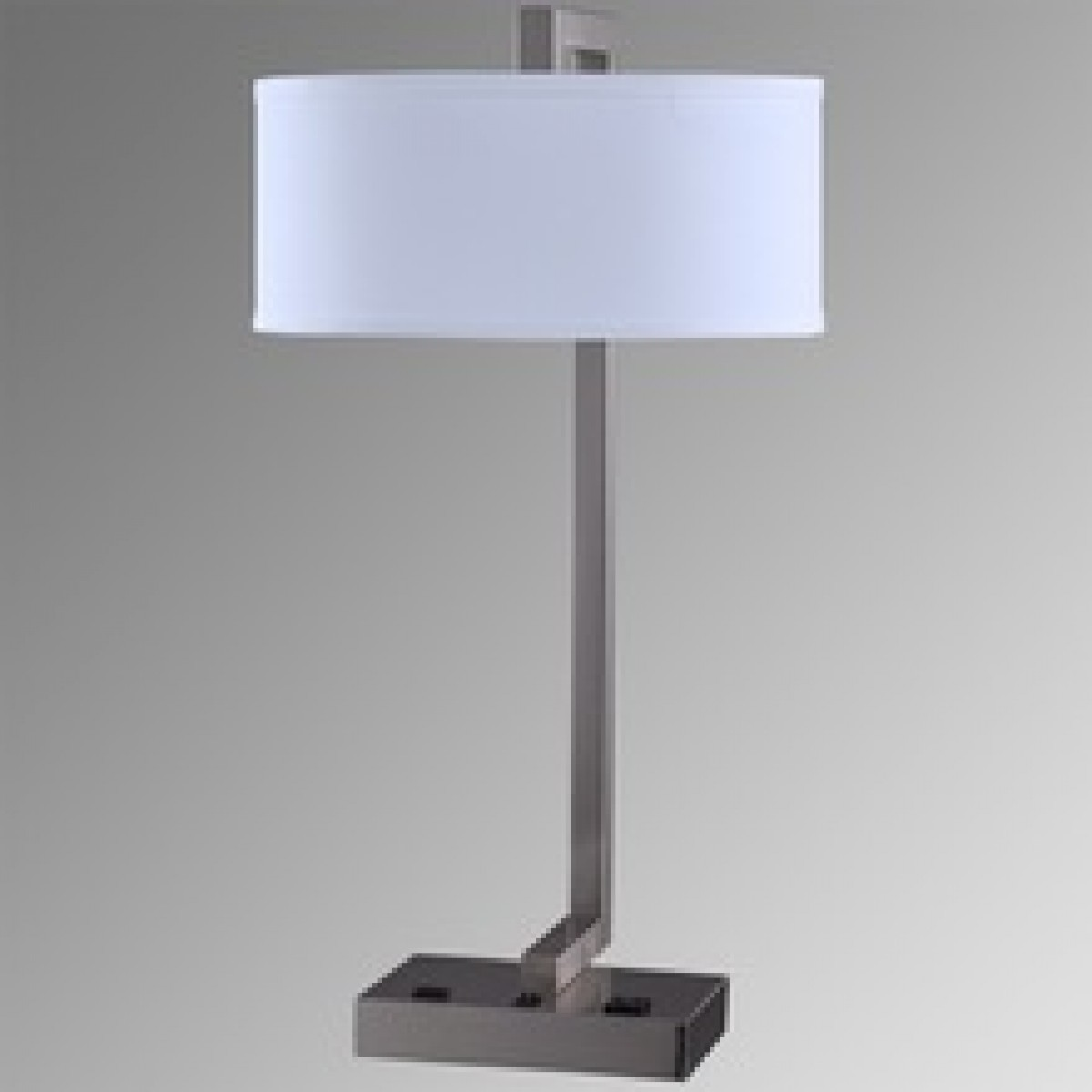 hotel table lamp with usb power outlet new design