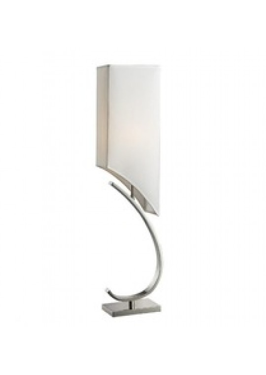 hotel table lamp in Brushed chrome Nickel metal and fabric shade new design with outlet USB and switch madie by china hotel lighting manufacturer coart item 115201804436, hotel table lamp with usb power outlet new design 2018