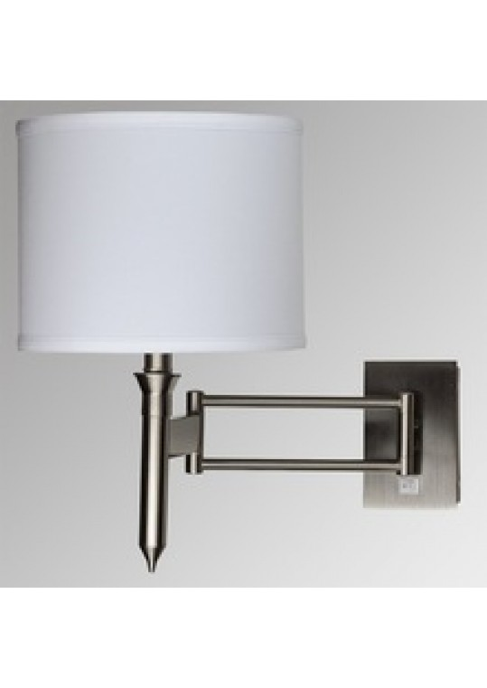 hotel guest room wall light sconce lamp fabric and burshed nickle with outlet usb and switch meet UL CUL ROHS CE made in china lighting manufactuer coart lighting ITME 5112018151271