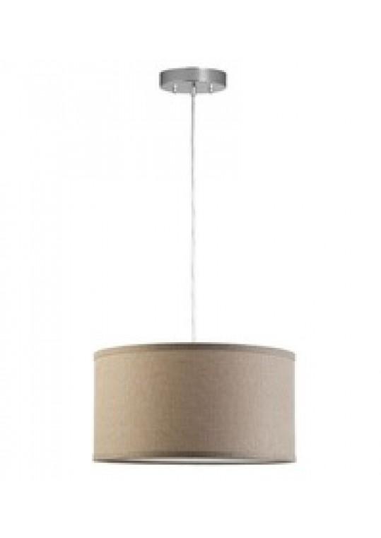 hotel pendant light with linen shade chrome contemporary design custom made in china lighting manufacturer coart item 201851220813