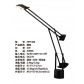 artemide style hotel desk lamp with aluminum black finish for reading in guest room made in china lighting manufacturer coart item hp7486