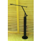 artemide style hotel floor lamp with aluminum black finish for reading in guest room made in china lighting manufacturer coart item hp7486