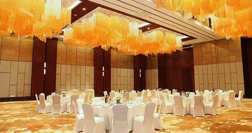 The banquet hall lighting of banyan tree hotel made by coart lighting