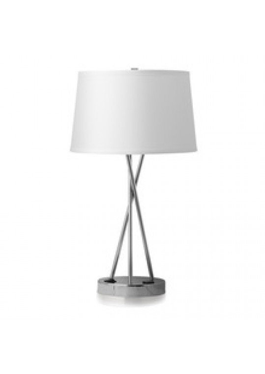 hotel table lamp with usb power outlet